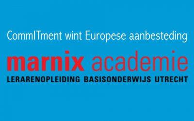 CommITment wint Europese aanbesteding ICT Support voor de Marnix Academie