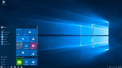 Digitale werkplek Remote desktop interface is een klassiek Windows startmenu en desktop - Commitment cloud computing
