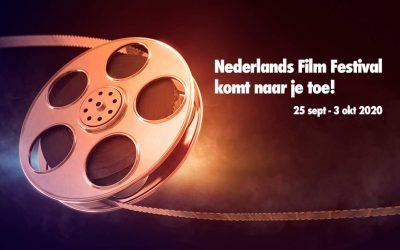 Het Nederlands Film Festival komt naar je toe