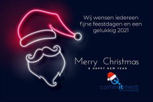 Fijne feestdagen en een gelukkig 2021 - CommITment cloud computing
