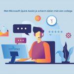 Met Microsoft Quick Assist je scherm delen met een collega - CommITment cloud computing